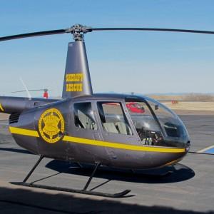 Cobham donates $72K radio for Yavapai County Sheriff R44