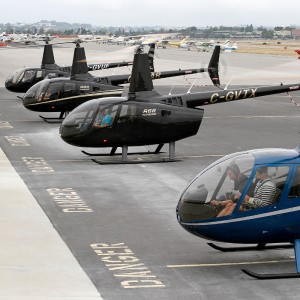 Aerial Recon takes delivery of four Robinson R66s