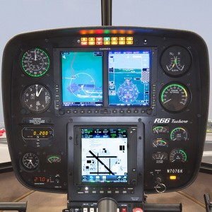 Robinson Adds Garmin G500H and Autopilot to R66 Options