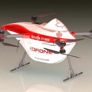Drone Delivery Canada Commences Testing on Raven X1400