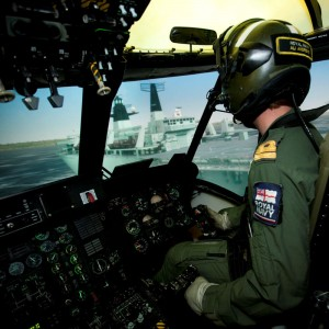 UK: RNAS Culdrose trainer upgraded to Christie Matrix StIM projectors