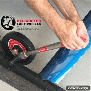 Rotorcorp becomes official Helicopter Easy Wheels distributor