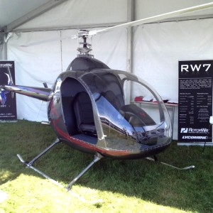 Rotorway launches new RW7 model at AirVenture 2015 in Oshkosh