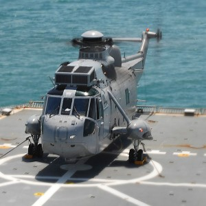 Australian Sea Kings make their final flight