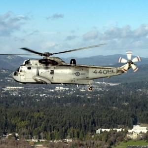 Canada holds Sea King retirement event