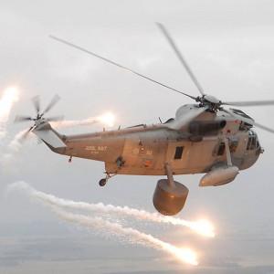 Royal Navy Sea King crews honored for Afghanistan deployment