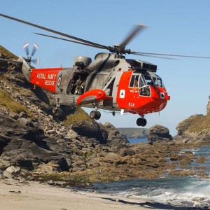Sea King moves from National Maritime Museum Cornwall to Yeovilton
