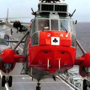 "Culdrose team start the very last Sea King ""Zonal Survey"""