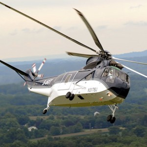 Modernized S-61T launches First Flight