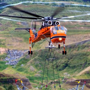 Erickson delivers another S-64 Air Crane to South Korea
