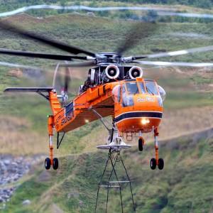 Rokstad Power hire Erickson for British Columbia heavy lift work