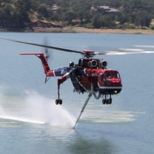 SDG&E Continues Air-Crane Support For Regional Firefighters