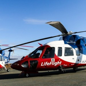 Air ambulances in Nova Scotia now carry supply of blood