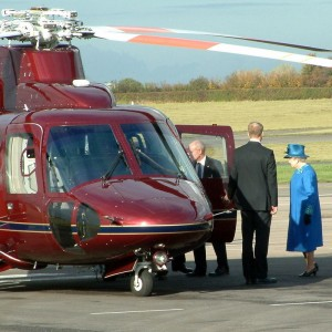 Sikorsky Delivers New VIP S-76C++ to UK Royal Household