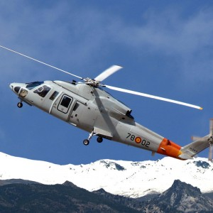 Spanish Air Force celebrates 50,000 hours on S-76C fleet