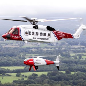 HM Coastguard flies first UK unmanned SAR missions