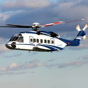 Milestone delivers first S92 to Caverton Helicopters