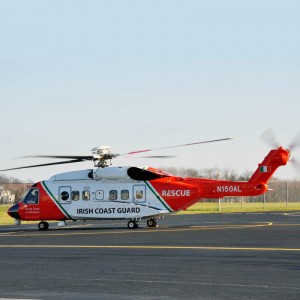Irish Coast Guard reaches landmark 10,000 flight hours on S92 fleet