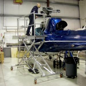 Scissor Deck targets helicopter market