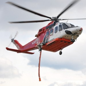 Japanese STC for AW139 firefighting belly tank system