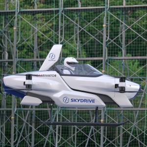 SkyDrive makes first manned flight of SD-03 eVTOL
