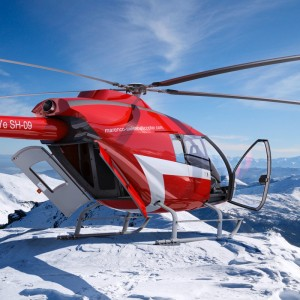 Marenco Swiss helicopter participates in China Helicopter Exposition