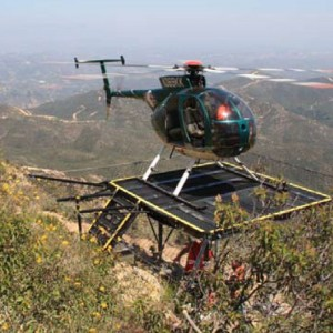 Soloy delivers portable helipads to utility company