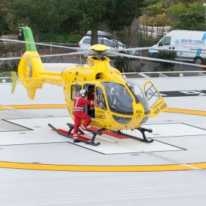 Hampshire/IOW Air Ambulance EC135 to feature in new TV series