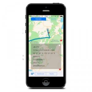 Spidertracks release new iPhone App