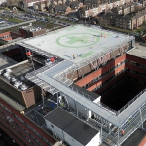 Second rooftop EMS helipad goes live in London