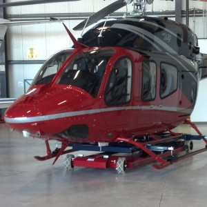 Tiger Tugs launches transporter for Bell 429