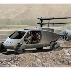 DARPA launches Transformer program – combining helicopters with ground vehicles