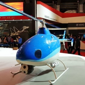 China's U8E unmanned helicopter makes debut at Dubai