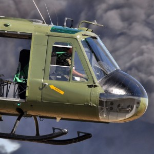 Full Restoration for Vietnam War Era Huey