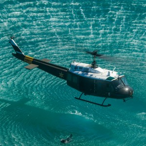 Vector to support Orange County Sheriff AS350 and UH-1H