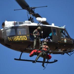Orange County Sheriff completes hoist training wtih AH+RT