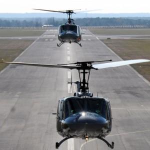 Burkina Faso Receives Two Donated UH-1H Hueys from Taiwan