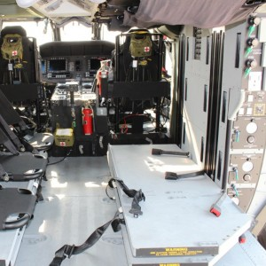 United Rotorcraft Contracted for Black Hawk Medical Interior