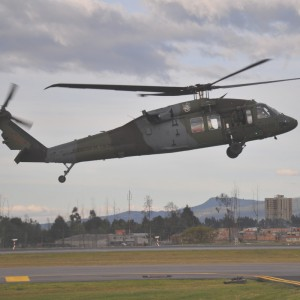 Colombian Army buys two more S-70i Black Hawks