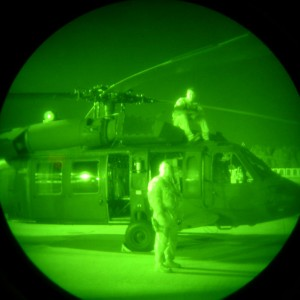 Night-vision goggles causing neck problems in military pilots