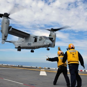 Parker Aerospace agreement with US Navy includes V-22 parts