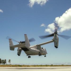 MRF-D Marines conduct trans-Pacific flight in MV-22 Ospreys