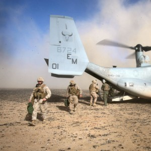 Air Delivery platoon tests new airborne resupply capabilities with V-22
