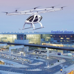 Volocopter works with Fraport to develop airport infrastructure