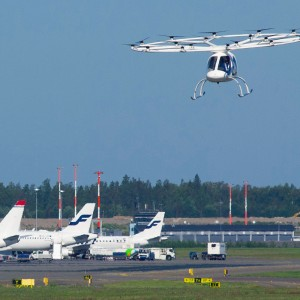 Volocopter completes integration tests at Helsinki Airport