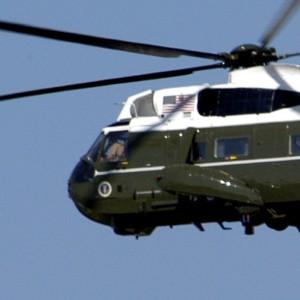 Navy museum unveils Nixon's 'Marine One'