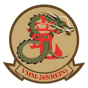 Change of command at US Marines VMM-265 Squadron