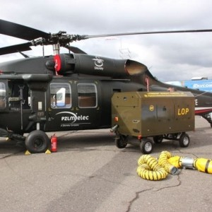 Sikorsky and WCBKT talking about Black Hawk ground support equipment