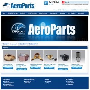 Cadorath Aerospace launches AeroParts website