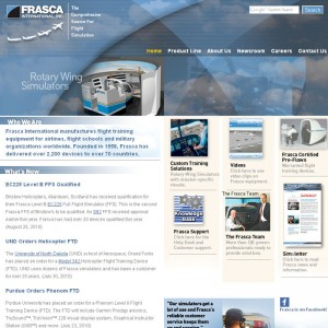 New website for Frasca